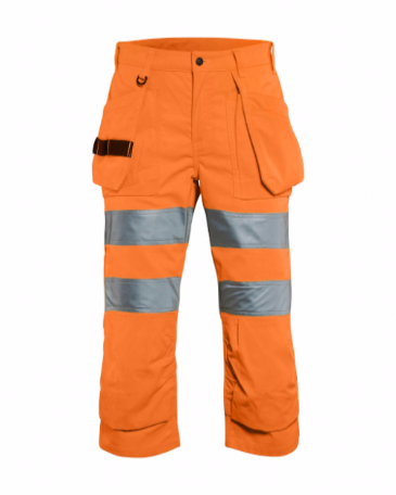 Blaklader 7139 Ladies Pirate Shorts High Vis (Orange)
